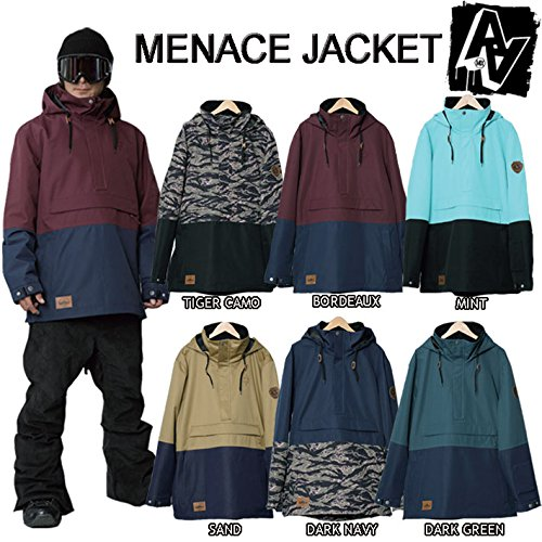 15-16 AA HARDWEAR スノーボードウェア MENACE JACKET メンズ メナスジャケット (SAND, M)