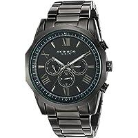 Akribos XXIV Swiss Quartz Multifunction Mens Watches (Multiple Colors)