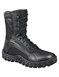 """Rocky Unisex 8"""" S2V Vented Military Duty Boot-FQ0000102"""