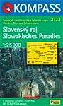 Slowakisches Paradies 1 : 25 000.