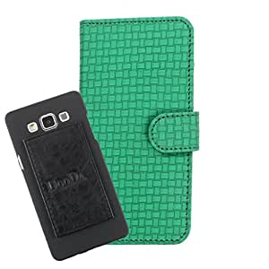 DooDa PU Leather Wallet Flip Case Cover With Card & ID Slots For Gionee Elife E7 Mini - Back Cover Not Included Peel And Paste