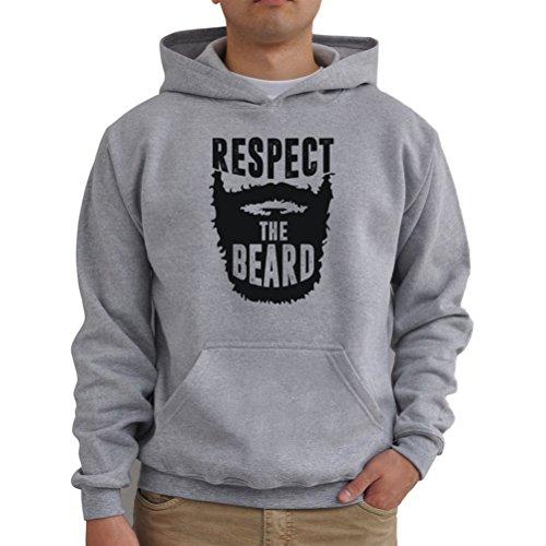 Felpe con cappuccio Respect the beard