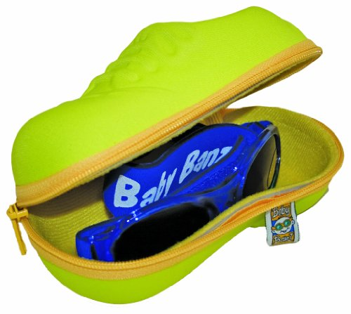 Baby Banz Sunglass Case Shoe, Yellow