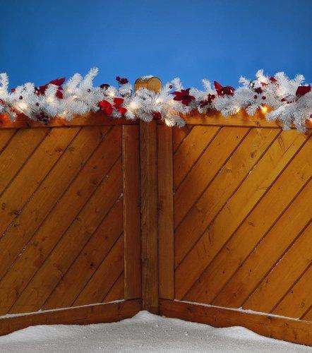Weihnachtsgirlande 2m inkl. Beleuchtung und Deko