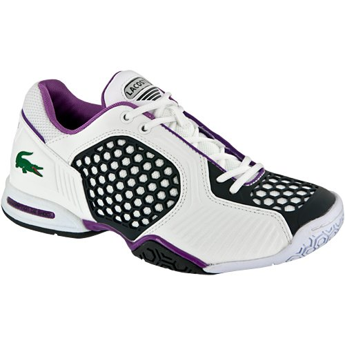 0cfe58ee012 Lacoste Repel 2 Womens Tennis Shoes White Dark Blue Purple Review