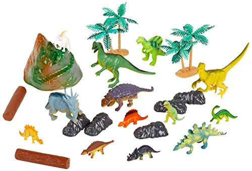 Rhode Island Novelty Dinosaur Set with Carrying Bag, 23-Piece - 1