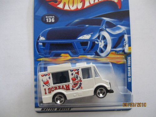 Ice Cream Truck 2001 Hot Wheels #136 - 1