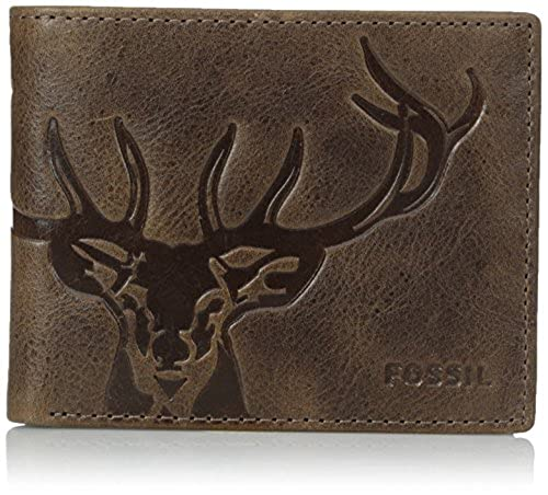 03. Fossil Men's Jack Bifold Wallet with Flip ID
