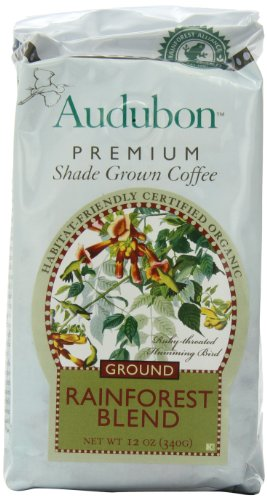 Audubon Ground Coffee, Rainforet Blend, 12 Ounce (Pack Of 3)