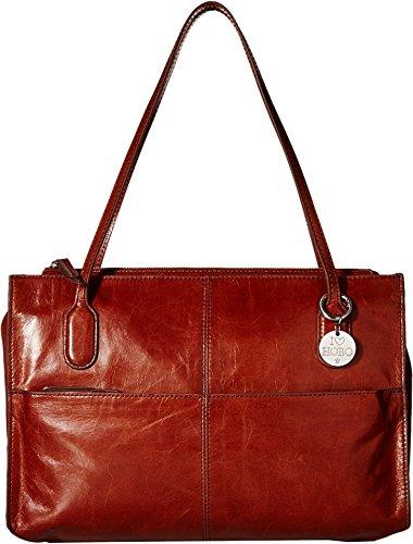 [HOBO Vintage Friar Satchel Shoulder Bag, Henna, One Size] (Hobo Purses)