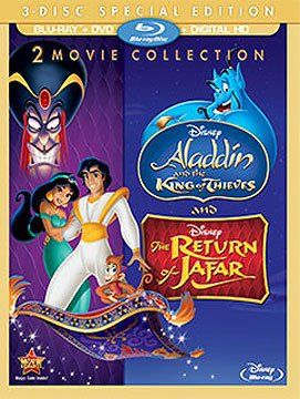 Disney The Return of Jafar / Aladdin and the King of Thieves (Aladdin 2 compare prices)
