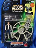 Han solo millenium falcon star wars figure with gunner station