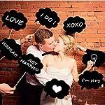 Vakind� DIY Foto Booth Prop Hochzeit...