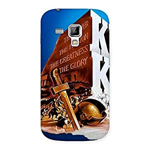 Special King Power Back Case Cover for Galaxy S Duos