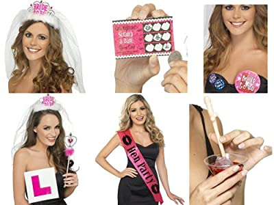 Hen Night Party Accessories For The Bride To Be and Hens