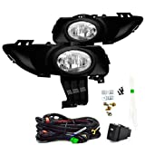 Remarkable Power FL7072 - 2004-06 Mazda 3 i Sedan 4Dr Bumper Fog Light Kit with Switch