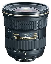 Tokina 11-16mm f/2.8 AT-X116 Pro DX II Digital Zoom Lens for Nikon DSLR Cameras