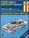 Haynes Ford Pinto and (Mercury Bobcat...