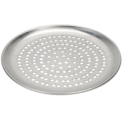 Pizza Grill Pan, Perforated 12-inch Aluminum (1)
