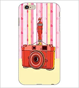 PrintDhaba Camera D-3908 Back Case Cover for APPLE IPHONE 6 PLUS (Multi-Coloured)