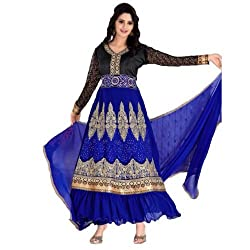StarMart Womens Georgette Straight Dress Material of Kavya 36 - 36005