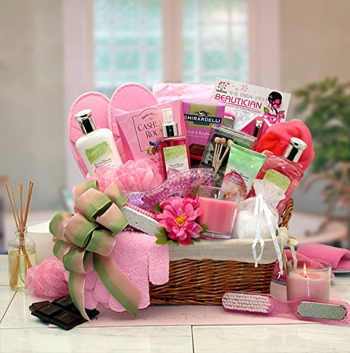 Spa Gift Basket of Summer's Sweetest Scents