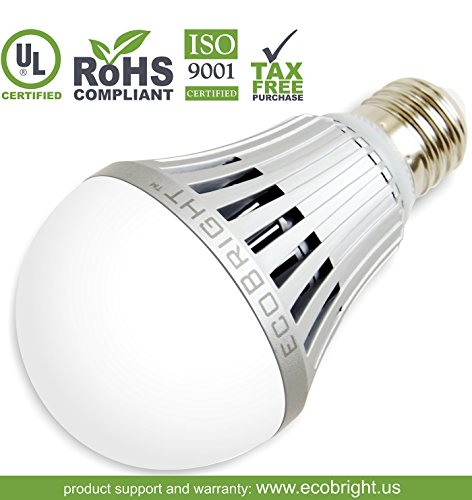 Ecobright 13W 1100-Lumen Non-Dimmable Led Light Bulb, Warm White (80W)