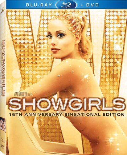 Cover art for  Showgirls (15th Anniversary Sinsational Edition) [Blu-ray]