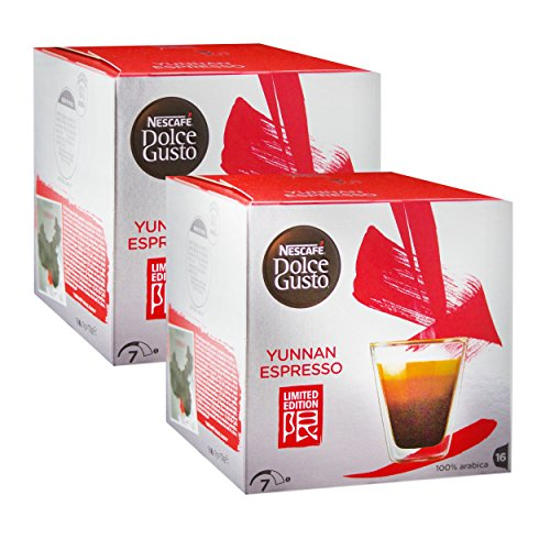 Choose Nescafe Dolce Gusto Yunnan Espresso Coffee, Limited Edition, 32 Capsules from Nescafe