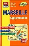 echange, troc Plans Blay Foldex - Plan de ville : Marseille, agglomération (avec un index)