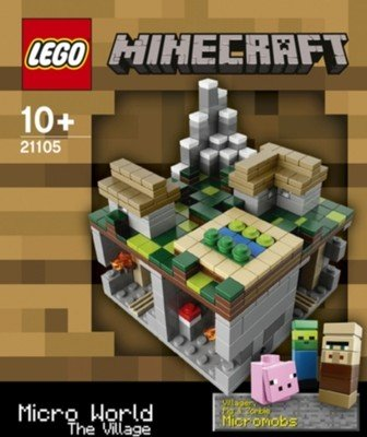 Lego Minecraft 21105 Micro World - The Village from LEGO