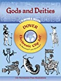img - for Gods and Deities CD-ROM and Book (Dover Electronic Clip Art) book / textbook / text book