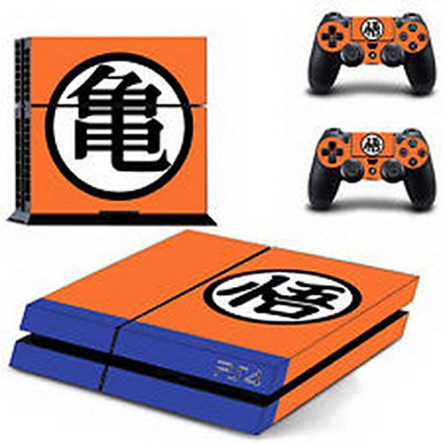 eXtremeDecal Shaolin Logo DBZ Wrap Body Vinyl Decal Skin Sticker for Playstation 4 PS4 Console and Controllers (Dbz Pan compare prices)