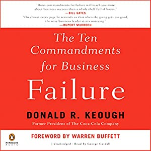 The Ten Commandments for Business Failure Audiobook