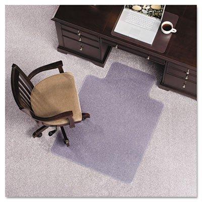 "Es Robbins® 36X48 Lip Chair Mat, Performance Series Anchorbar For Carpet Up To 1"""