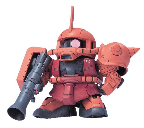 Bandai Hobby BB#231 MS-06S Zaku II, Bandai SD Action Figure