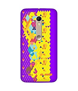Stripes And Elephant Print-39 Motorola Moto X Style Case