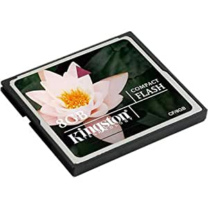 Kingston CF/8GB Carte CompactFlash Standard 8 Go