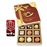 Chocholik Belgium Chocolates - 9pc Admiring Choco Treat With With 3d Mobile Cover For IPhone 6 - Gifts For Diwali