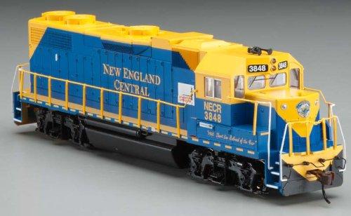 Bachmann Emd Gp38-2 New England Central 3848 Locomotive Ho Scale
