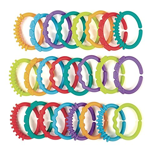 Infant linking rings toy