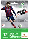 Xbox Live Gold 12-Month Membership Card with 1 Bonus Month - FIFA 14 Branded (Xbox 360)