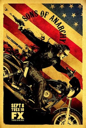 Poster 'Sons of Anarchy', Dimensione: 69 x 102 cm