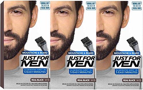 3x-solo-per-uomo-baffi-barba-e-facial-gel-per-capelli-colore-m55real-black