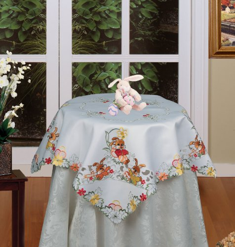 Embroidered Easter Tablecloth 33
