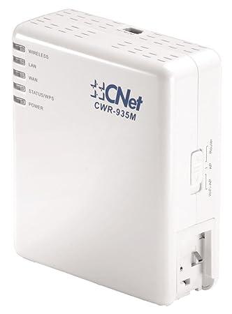 C Net 41211 Mini Serveur Routeur Wi-Fi 300 Mbps Port RJ45 Blanc