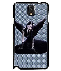 PrintVisa Metal Printed Anjel Designer Back Case Cover for Samsung Galaxy Note 3-D4870