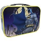 10 Inch Batman Protecting Gotham City Collectible Super Hero Tin Tote