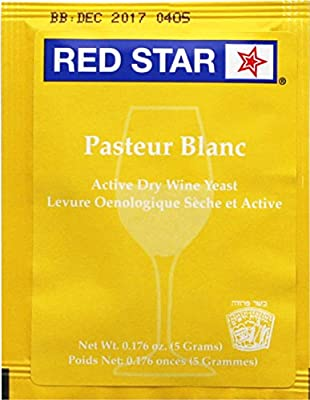 Red Star CW-MDFV-TT13 Pasteur Blanc Champagne Yeast (Pack of 10)
