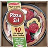 Melissa & Doug Felt Food - Pizza Set
